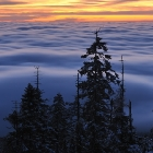 Sea of clouds under Jested | photography